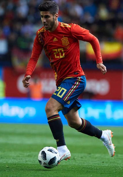Marco Asensio Of Spain Runs With The Ball During The International Asensio Soccer Soccer Players