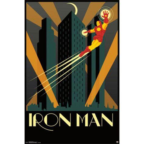 Art Deco Domestic Poster