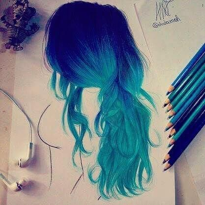Anime Hairstyles Meaning Colorful Drawings Pencil Drawings How To Draw Hair