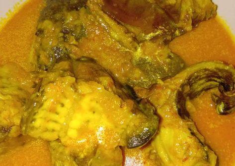 Resep Pari Asap Masak Santan Oleh Iin Afriyanti Resep Resep Ikan Ikan Asap Daging Asap