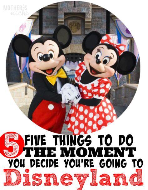 Disneyland Vacation Planning Tips