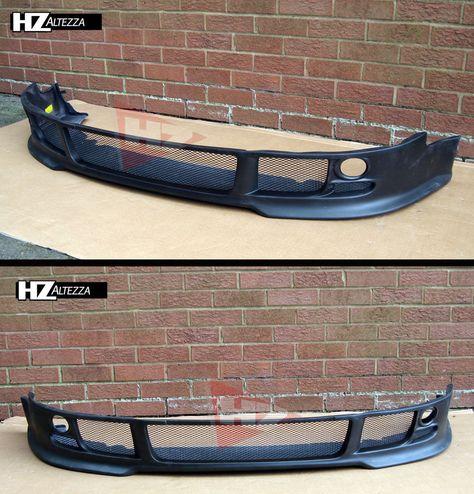 01 04 Audi A4 B6 4dr Saloon Hz Type Front Lip Splitter Autos Coches