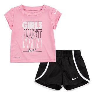 Baby Girl Nike Dri-FIT Graphic Tee