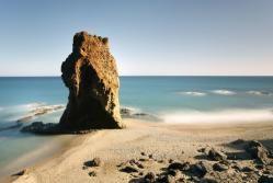 Playa Del Sombrerico Cala Manacá Mojácar Almería Outdoor Coastline Water