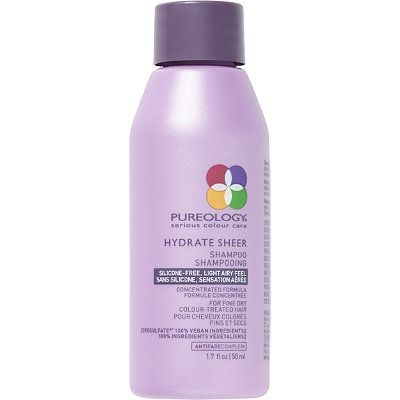 Pureology Travel Size Hydrate Sheer Shampoo Shampoo Travel Size Products Pureology