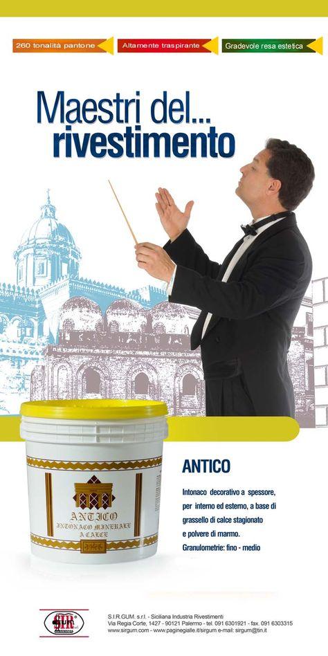 """Intonaco """"ANTICO"""""""