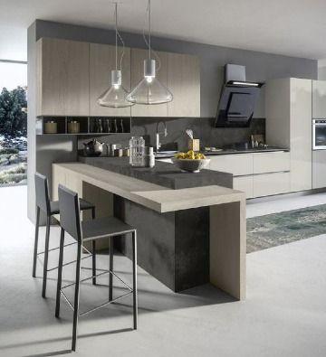 Ideas Elegantes En Decoracion De Cocinas Modernas 2019 Como Decorar Mi Cuarto Modelos De Cocinas Modernas Decoracion De Cocina Moderna Diseno De Interiores De Cocina