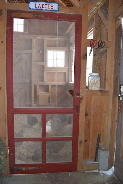 Chicken Coop With Indoor Storage Here A Chicken There A Chicken Diy Chicken Coop Building A Chicken Coop Cheap Chicken Coops