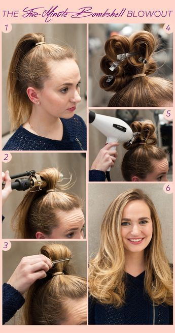 Never Have A Bad Hair Day With This Faux Blowout Diy Hair Styles Blowout Hair Diy Hairstyles