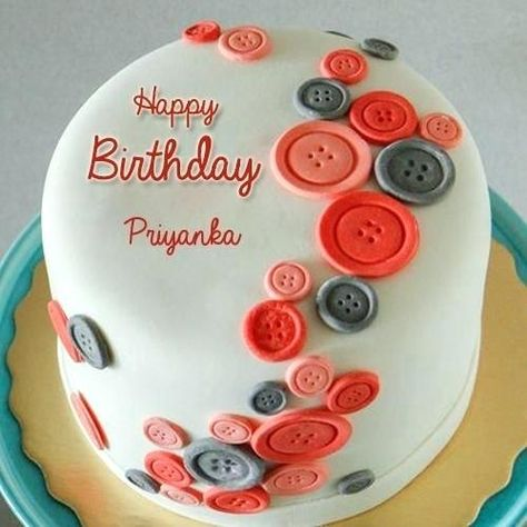 Happy Birthday Dear Priyanka With Happy Birthday Wishes Creative