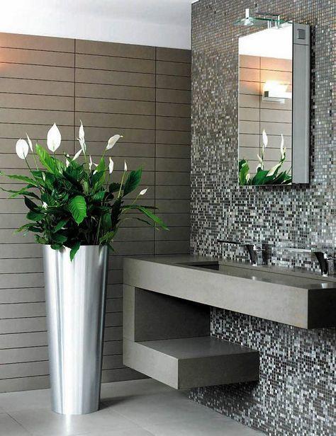 Zdjecie Numer 1 W Galerii Najlepsze Kwiaty Do Lazienki Small Entryway Table Bathroom Decor Lighted Bathroom Mirror