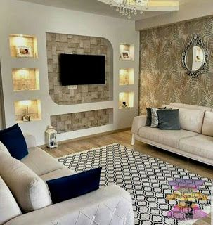 غرف معيشة 2021 ليفنج روم بديكورات بسيطة وجميلة Decor Home Decor Diy Decor