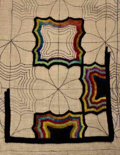 1 Yard Of Rainbow Colors Rugs Rug Hooking Rag Rug