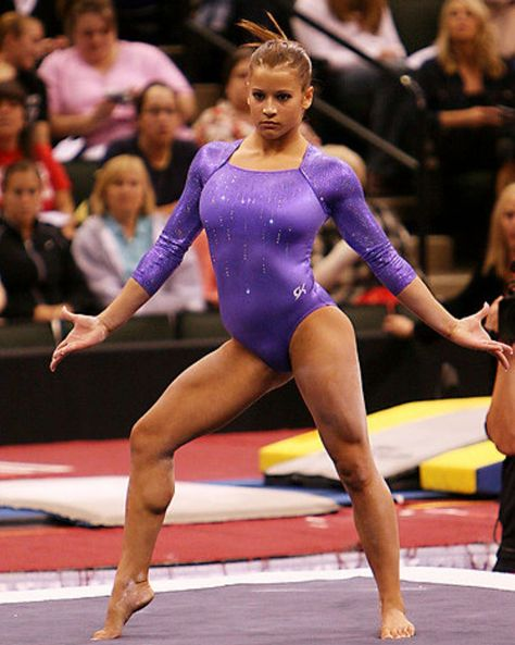 Alicia sacramone=not one of my faves, due to her lack of consistency, and her inability to dance gracefully, but she deserves props for power tumbling and amazing vaulting skills (second to Maroney's vaulting imo though).