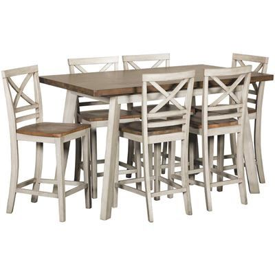 Show Details For Fairhaven 7 Piece Counter Dining Set Counter
