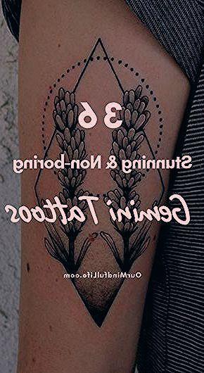 36 Stunning Gemini Tattoos Ourmindfullife Com Zodiac Signs Gemini Sign Gemini Woman Gemini Art Zodiac Tattoo H In 2020 Gemini Tattoo Zodiac Signs Gemini Gemini Sign