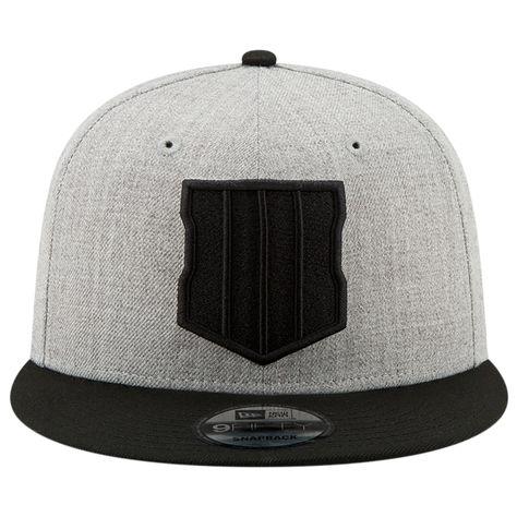 New Era 9Fifty COD Black Ops 4 Cap Black Grey