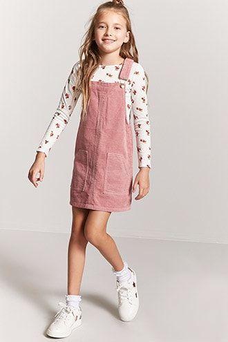 Girls Corduroy Overall Dress Kids Girls Fashion Tween Girls Fashion Clothes Tween Fashion