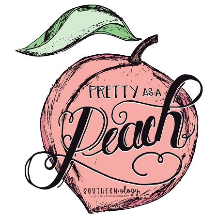 Pretty as a Peach is sure to be your new favorite decal! These Decals feature a premium coating that protects them from exposure to wind, rain and sunlight! Southern Women, Southern Comfort, Simply Southern, Southern Charm, Southern Hospitality, Southern Phrases, Southern Quotes, Peach Quote, Southern Belle Secrets
