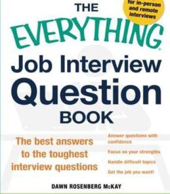 The Everything Job Interview Question Book PDF | betterment | Job