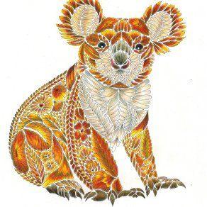 Koala Colouring Competition Millie Marotta Millie Marotta Animal Kingdom Millie Marotta Tropical Wonderland Millie Marotta Coloring Book