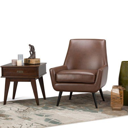 Home Mid Century Armchair Living Room Chairs Accent Chairs