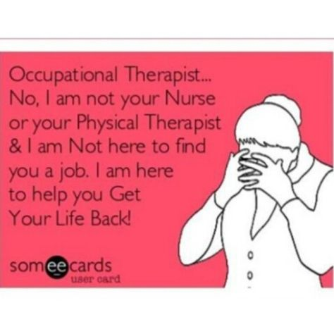 occupational therapy weblog OT Pinterest Occupational - occupational therapist job description
