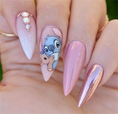 Sexuality Acrylic Stiletto Nails In 2019 Summer - Nail Art Connect#stilettonails#summernails#acrylicnails