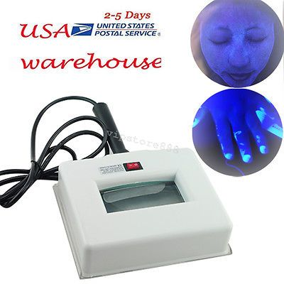 Advertisement Us Exam Skin Uv Magnifying Analyzer Wood Lamp Beauty Test Facial Care Machine In 2020 Beauty Test Facial Care Skin Care Devices