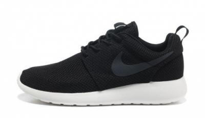 Nike Roshe Run 511881 010 Czarne Szare Logo 42 Nike Roshe Run Black Nike Roshe Nike