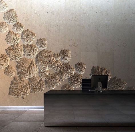 Lobby Decor Always Need A Luxurious Suspension Lamp Discover More Luxurious Interior Design Details At Luxxu Net Wall Design Lobby Design Textured Walls