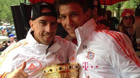 Fc Bayern Munchen Triple Champions Party 2013 Vorstellung Der