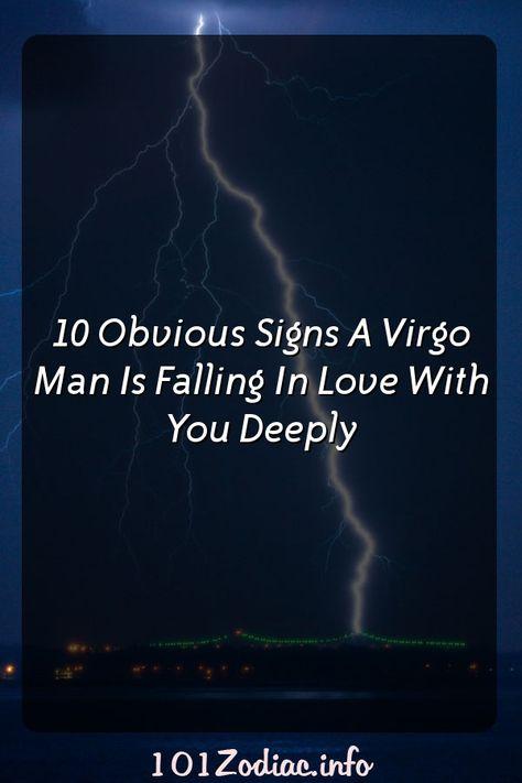 how virgo man fall in love