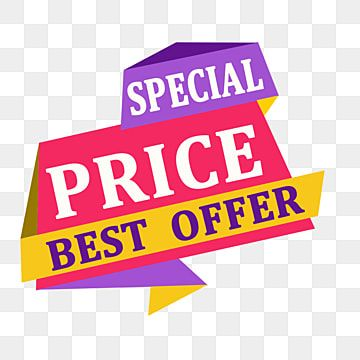 Special Price Best Offer Banner Special Pricebanner Business Png Transparent Clipart Image And Psd File For Free Download Discount Banner Sale Banner Colorful Birthday