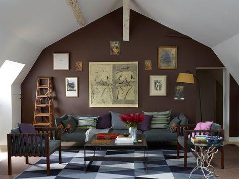 Welche Farbe Passt Zu Braun? Tipps Für Schöne Farbkombinationen  #schönerwohnen #zimmer #alpina #raumgestaltung #wände #grün #streichen  #grau #wandfarben # ...
