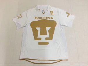 146a2df8eec Pumas Unam 2010-11 Season Retro White Liga MX Jersey [K454]