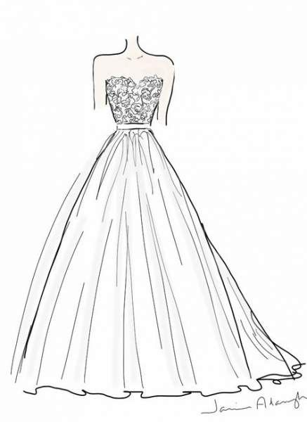 32 Best Ideas For Drawing Fashion Dresses Simple Dress Design Drawing Wedding Dress Drawings Fashion Design Drawings