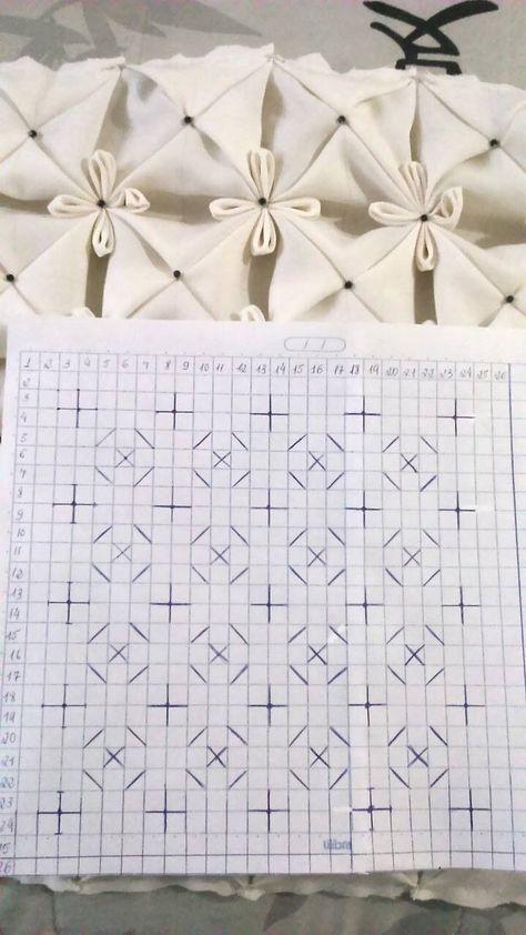 "diy_crafts- Smocking design ""How to do canadian smocking matrix design - Art & Craft Ideas"", ""Welcome to the Smock-Down! A smocking tutorial"", Smocking Tutorial, Smocking Patterns, Sewing Patterns, Textile Manipulation, Fabric Manipulation Techniques, Fabric Manipulation Tutorial, Silk Ribbon Embroidery, Embroidery Stitches, Embroidery Designs"