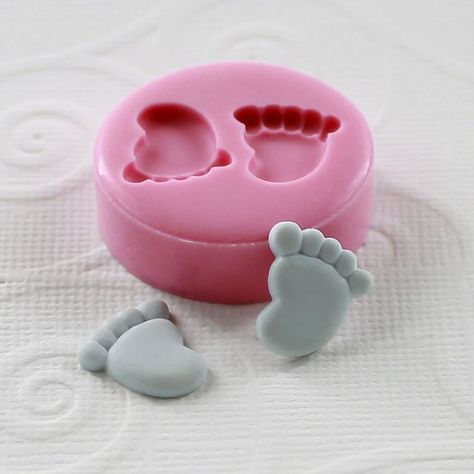molde para chocolate,forma de dibujos animados,molde para dulces,herramienta para hornear,hecho a mano,color rosa Smilyokach Molde de silicona para tartas con forma de rosquilla