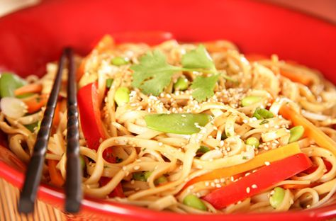 Asian Cold Noodle Salad | Nasoya