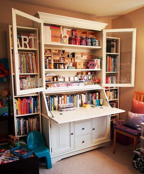 Best 45 Craft Room Storage Cabinets Ideas Bastelraum-Lagerschränke 18 Source by .