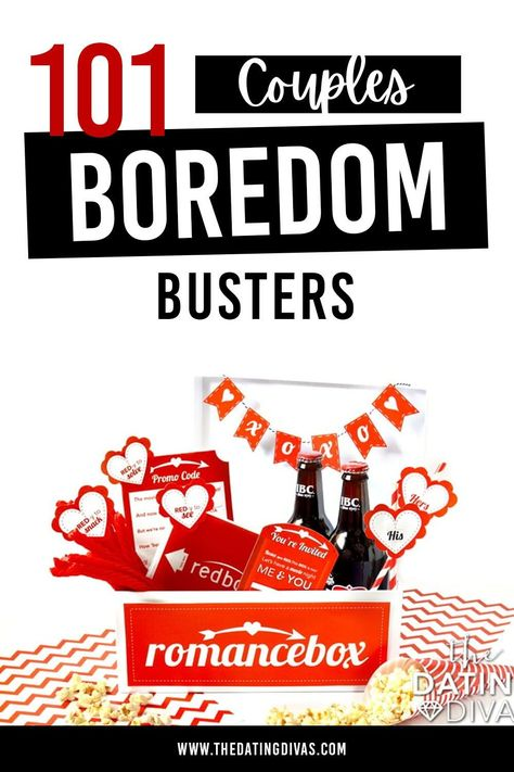 101 couples boredom busters to spice up a marriage