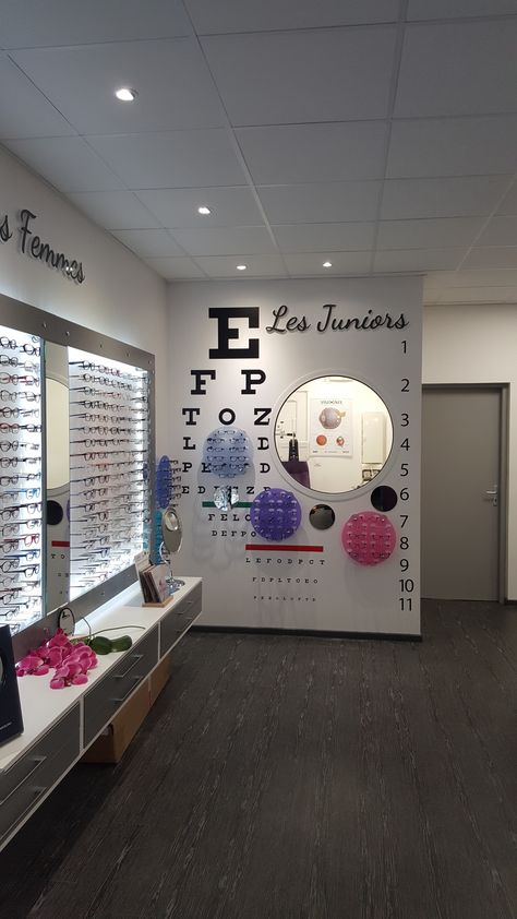Showrrom | JCDA Espace optique Junior, opticien Roumat 33