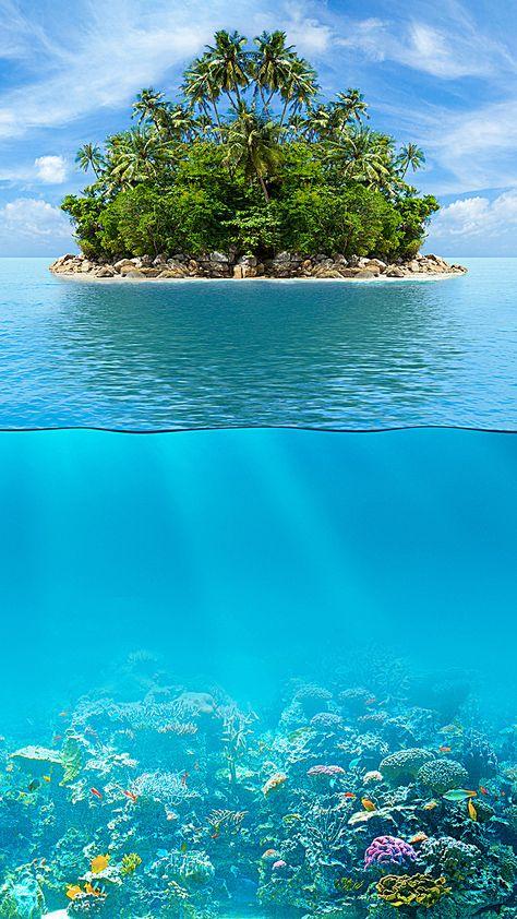 море h5 фон, море, Острова, море, Изображение на заднем плане