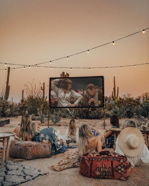 "S P E L L on Instagram: ""A movie night under a desert sky 🌵✨ we think that this has been a dream for our girl @_lucyinthesky since we have been lucky enough to have…"""