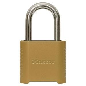 Master Lock 875dlf 2 In Wide Zinc Set Your Own Combination Padlock With 1 1 2 In Extra Long Shackle 875dlfhc The Home Depot Copper Metal Mobile Tool Box Padlock
