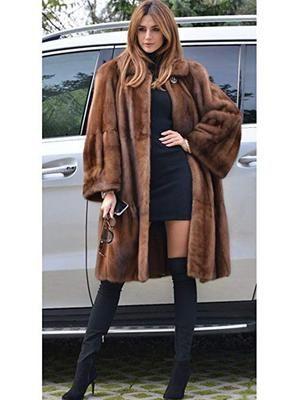 Women Ladies Warm Faux Fur Coat Jacket Winter Parka Plus Size Lapel Outerwear