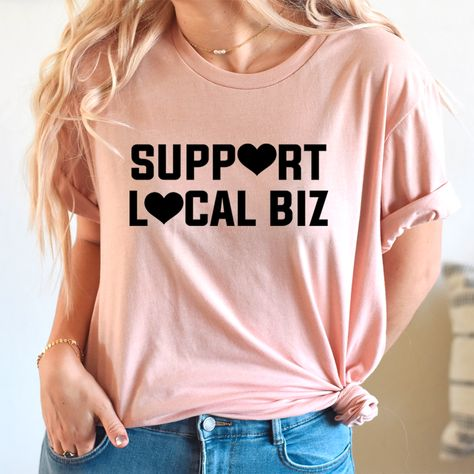 Support Local Biz Tee #mominspiration #momstyleblogger #homeschoolmama #affordablestyle #fashionista #outfitideas4you #shopping #clothing #ltkstyletip #women