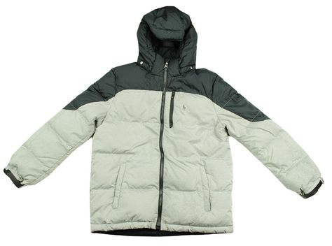 Ebay Sponsored Polo Ralph Lauren Boys Performance Grey Black Puffer Down Jacket Coat L 14 16 Jackets Raincoat Black Puffer
