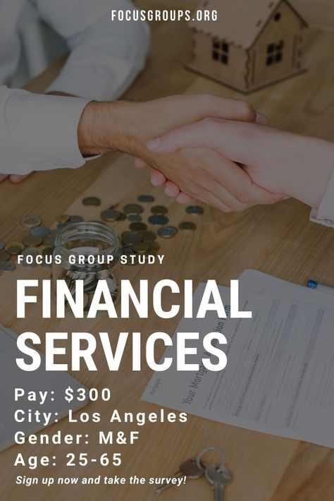Focus Group on Financial Services in LA